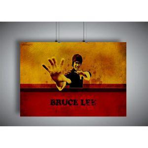 AFFICHE - POSTER Poster BRUCE LEE ART OF WING CHUN 04 Wall Art  - A