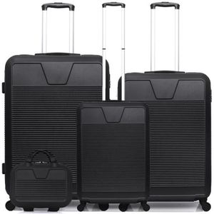 SET DE VALISES SET DE 4 VALISES | ABS – 75cm – 4 roues – SELENGA-