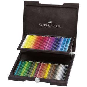 CRAYON DE COULEUR FABER-CASTELL Coffret de 72 Crayons de couleur aqu