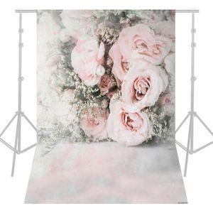 FOND DE STUDIO 1.5 * 2.1 m / 5 * 7ft Rose Fleur Photographie Fond
