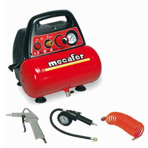 COMPRESSEUR MECAFER Compresseur d'air NEW VENTO 6 L 1,5 CV 8 b