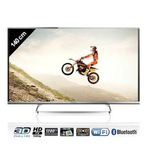 Téléviseur LED PANASONIC TX-55AS650E TV LED 3D connecté 139 cm
