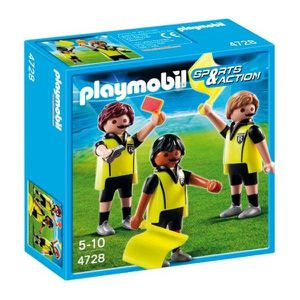 UNIVERS MINIATURE Playmobil Trio Arbitral