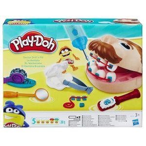 JEU DE PÂTE À MODELER Play-Doh - Pate A Modeler Play-Doh - Le Dentiste