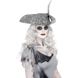 MAQUILLAGE Maquillage de fantôme halloween horreur