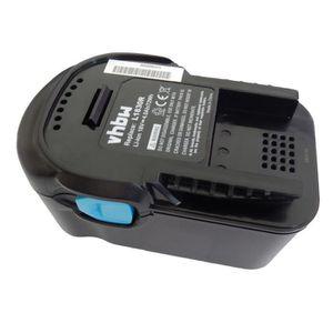 Outil Pile Batterie Noir 18 V 3000 mAh pour AEG BSB 18 STX BSS 18 C