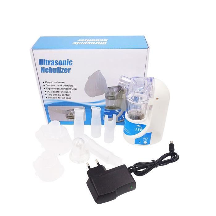 Mini inhalateur d'asthme à main, nébuliseur atomiseur humidificateur équipement médical pour enfants et adultes soins [F7ED2F8]