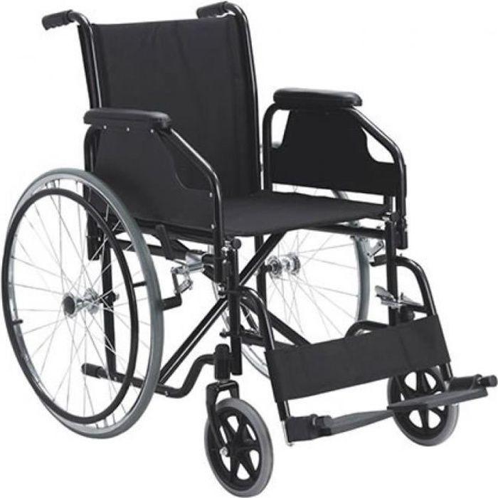 Fauteuil roulant pliant - Léger - Orthopédique - En aluminium- Catedral- Mobiclinic