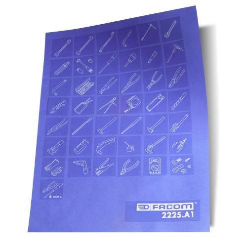 Planche de pictogrammes Facom 2225.A1