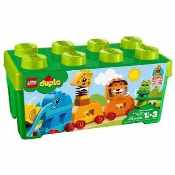 Poupon LEGO Duplo 10863 My First Animal Brick Box URQMH