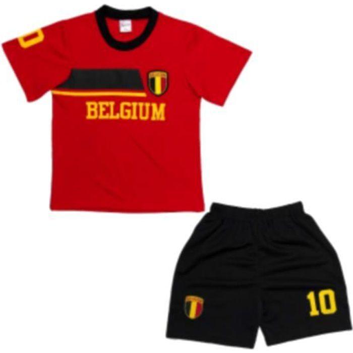 Ensemble De Vetements De Football - Tenue De Football - NPZ - Ensemble de Foot Maillot + Short Enfants pour les supporter de la