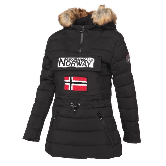 GEOGRAPHICAL NORWAY Parka Bougie 005 - Femme - Noir