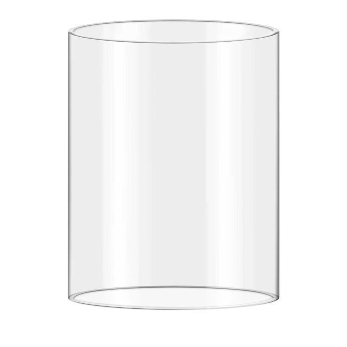 Cylindre de remplacement en verre pour machine à Hot-dog Royal Catering RCHW 800/2300 (diamètre 20cm hauteur : 24cm)