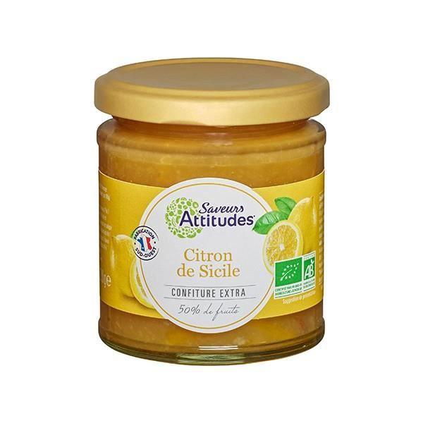 Confiture de Citron de Sicile BIO 220gr