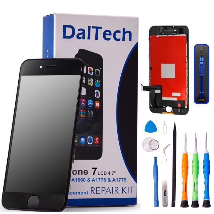 Beefix Kit de Remplacement d/écran pour iPhone 7 Plus Blanc 5,5 /écran LCD num/ériseur avec 3D Touch et kit Complet doutils de r/éparation offerts
