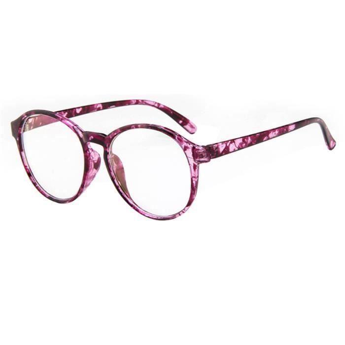 LUNETTES DE VUE LR Lunettes Unisexe Monture de lunettes rétro Rond