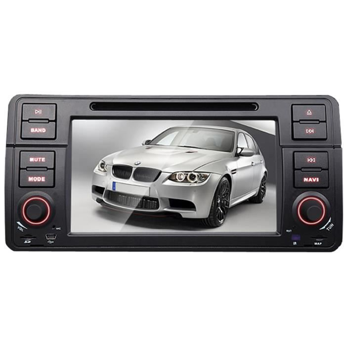 autoradio pour bmw e46 avec gps 6 2 pouces g achat. Black Bedroom Furniture Sets. Home Design Ideas