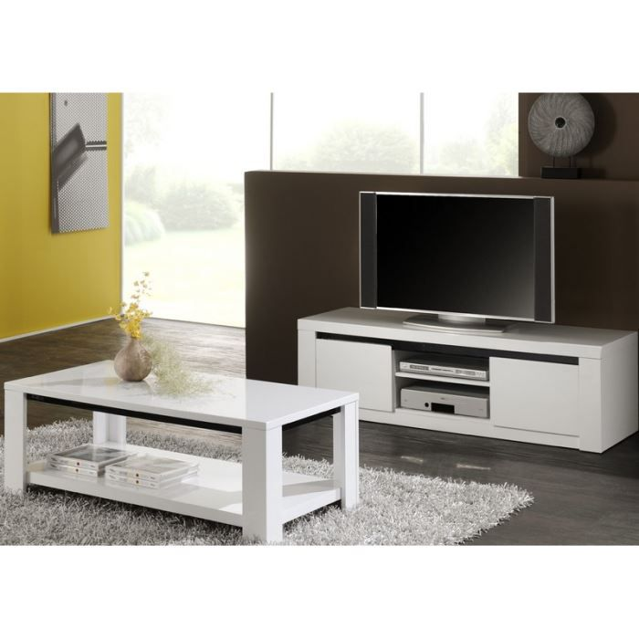 meuble tv hauteur 50cm table de lit a roulettes. Black Bedroom Furniture Sets. Home Design Ideas