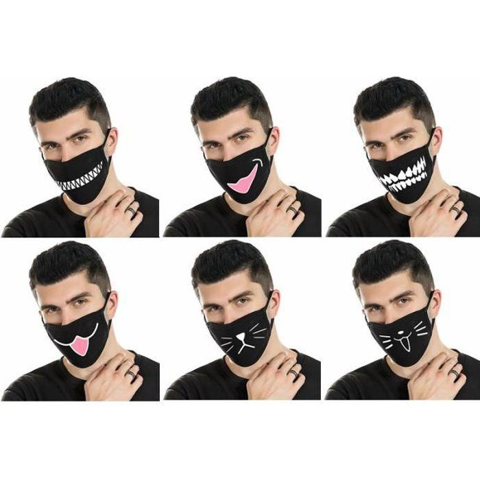 violet avec des taches AEX 10 Pièces Unisexe papier Masquerade Masque