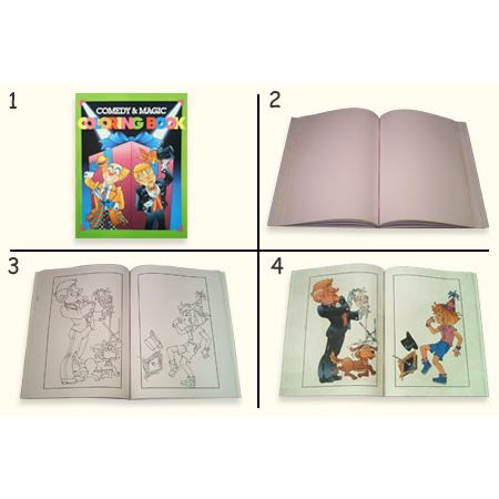 Magic Coloring Book Large Grand Format Livre De Coloriage