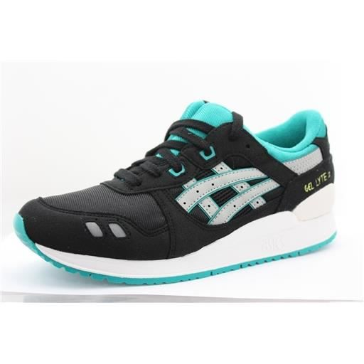 gel lyte 3 gs femme asics c5a4n noir achat vente basket cdiscount. Black Bedroom Furniture Sets. Home Design Ideas
