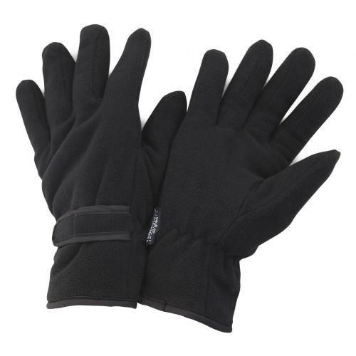 Nouveau Homme Noir en Cuir Véritable écran Tactile Thermique Isolé Polaire Doublé Gant