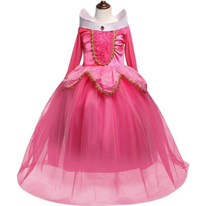 Deguisement Robe Princesse Pour Aurora Robes 3 10 Ans Cosplay Costume En Halloween Noel Anniversaire Partie Carnaval Mariage Achat Vente Deguisement Panoplie Cdiscount