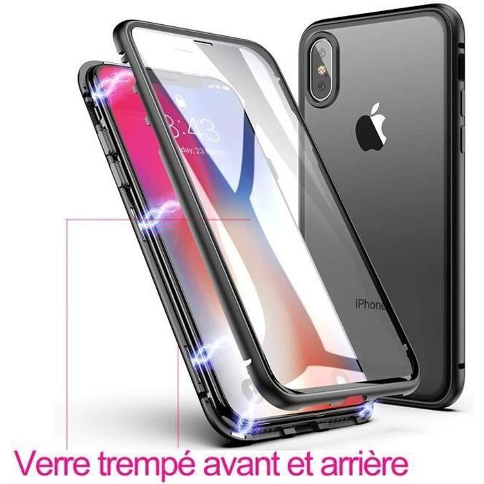 coque iphone aimantee xr