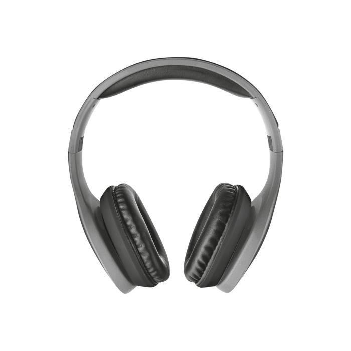 CASQUE - ÉCOUTEURS TRUST Casque sans fil Bluetooth - Portée 10 mètres