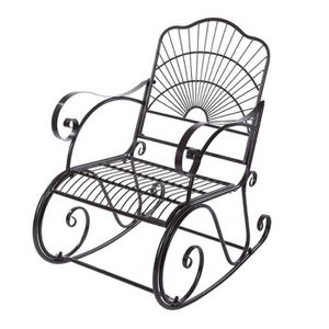 FAUTEUIL JARDIN  Fauteuil Rocking Chair, Fauteuil Bascule Jardin Mo