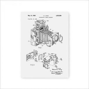 TABLEAU - TOILE Version A4 21x30 cm No Frame - PH4098 - 1966 Camér