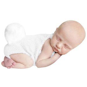 SET DE SOIN ouniondo® Nouveau-né Knit photo bébé lapin Romper
