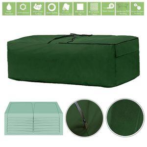 HOUSSE DE RANGEMENT Gardenista® vert XL Sac de rangement pour coussins