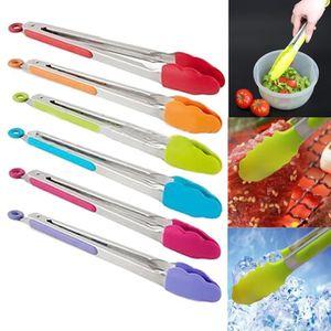 PINCE DE SERVICE Livraison Gratuite Silicone Cuisine Cuisine Salade