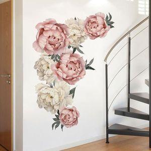STICKERS Sticker mural home decor fleur, stickers muraux cu