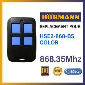 TÉLÉCOMMANDE DOMOTIQUE  Télécommande compatible Hörmann HSE2-868-BS COLOR,