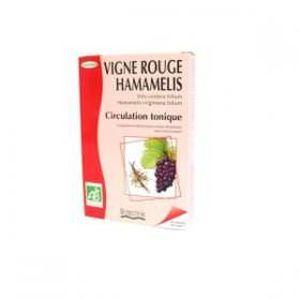 CIRCULATION SANGUINE Vigne rouge / Hamamélis Bio - 20 ampoules - Bio…