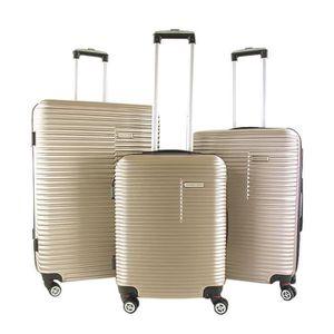 SET DE VALISES Lot de 3 valises rigides 75, 65 et 55 cm Taupe TAU