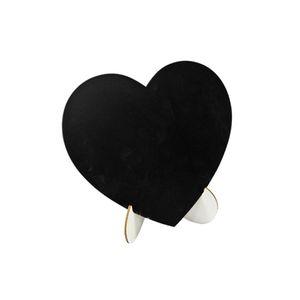 Coeur g/éant Ardoise /à Suspendre 26cm x1 REF//DEK0053 HOBI Mariage
