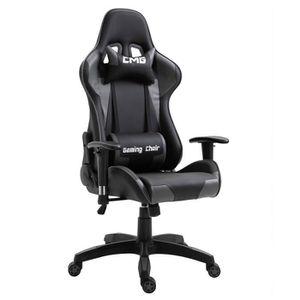SIÈGE GAMING Chaise de bureau GAMING fauteuil ergonomique avec