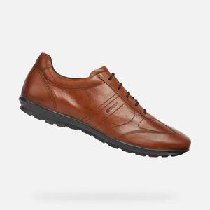 BASKET GEOX Chaussures U SYMBOL Urban Brun Homme