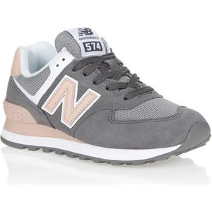 BASKET NEW BALANCE Baskets - Femme - Gris et rose