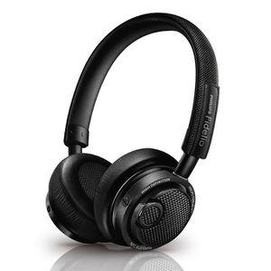 CASQUE - ÉCOUTEURS PHILIPS FIDELIO M2 noir - Casque audio Bluetooth N