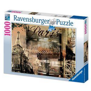 PUZZLE Ravensburger - 15729 - Puzzle 1000 pcs Paris Nosta