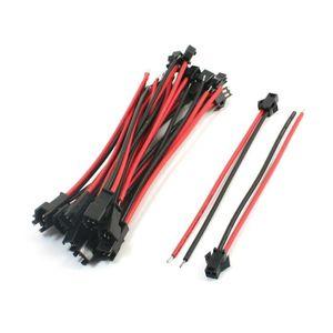 R 20 pieces Cable de rallonge de Servo male a femelle telecommande SODIAL Cable de rallonge de Servo