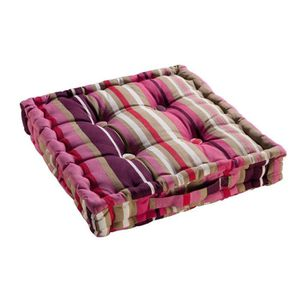 coussin de sol rose achat vente coussin de sol rose pas cher cdiscount. Black Bedroom Furniture Sets. Home Design Ideas