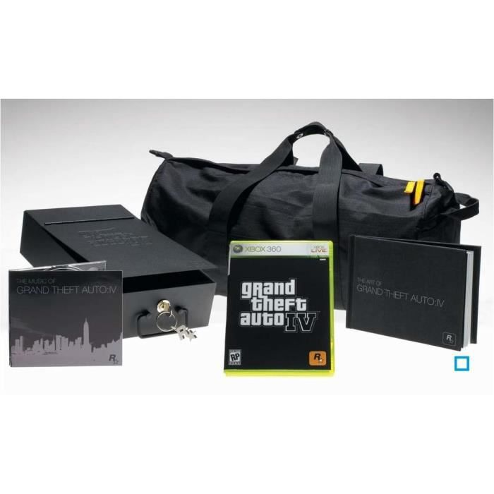 gta iv edition collector jeu console xbox360 take 2. Black Bedroom Furniture Sets. Home Design Ideas