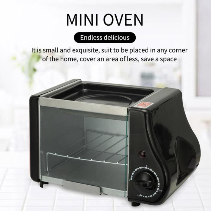 Mini grille-pain électrique multifonctionnel