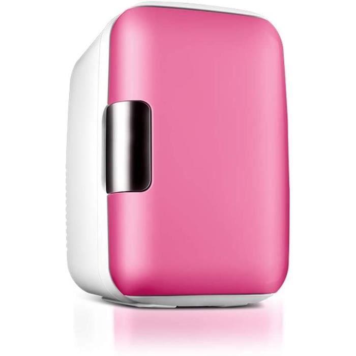 Mini r&eacutefrig&eacuterateur 6L petit r&eacutefrig&eacuterateur domestique à double usage de voiture portable &agrav366