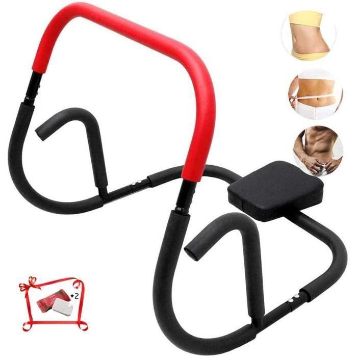 APPAREIL ABDO Usage Domestique ABS Trainer AB Roller AB Exercise Machine Gym Fitness Abdominal Trainer AB Wheel AB Crunch Core 594